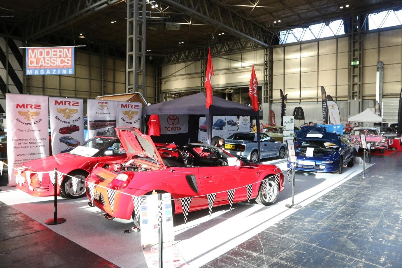 NEC Classic Car Show November MR Drivers Club - Car show carpet