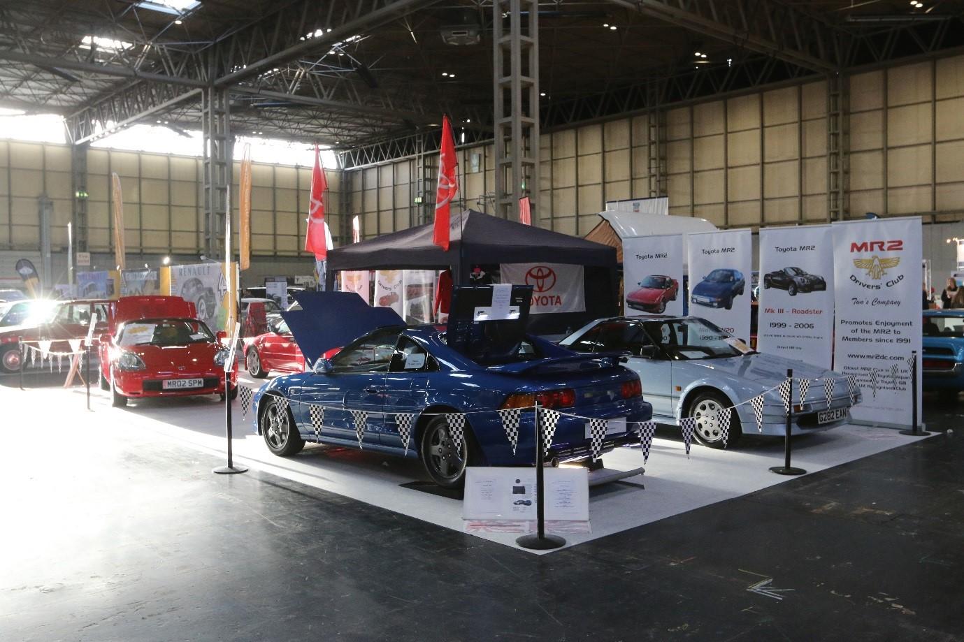 NEC Classic Car Show November MR Drivers Club - Car show wheel stands